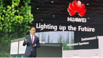Huawei's Ryan Ding: Ongoing Innovation Is Lighting up the Future…