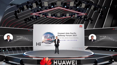 HuaweiEnablesAPAC Railway Digitalization for Sustainable Mobility