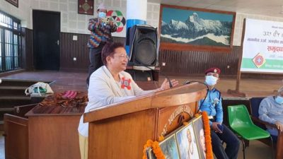 Minister Bhusal insists on better living standard of people for…