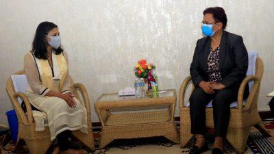 MCC Vice-Chair Sumar calls on Energy Minister Bhusal