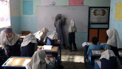 Taliban says girls to return to school 'soon as possible'