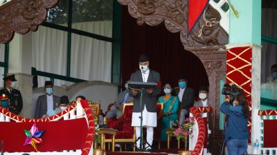 Constitution has fused together martyrs' dream, citizen's aspiration and our…