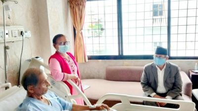 Home Minister Khand takes stock of Baidya's health condition